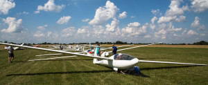 Perfect gliding day