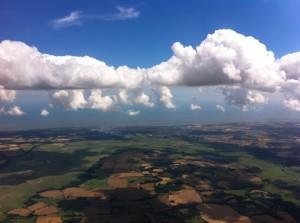 Curtain clouds