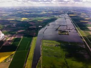 Flooded drains