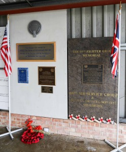 Flags and plaques